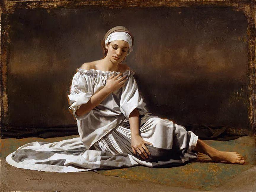 人物油画 美国现代著名画家William Whitaker插图31