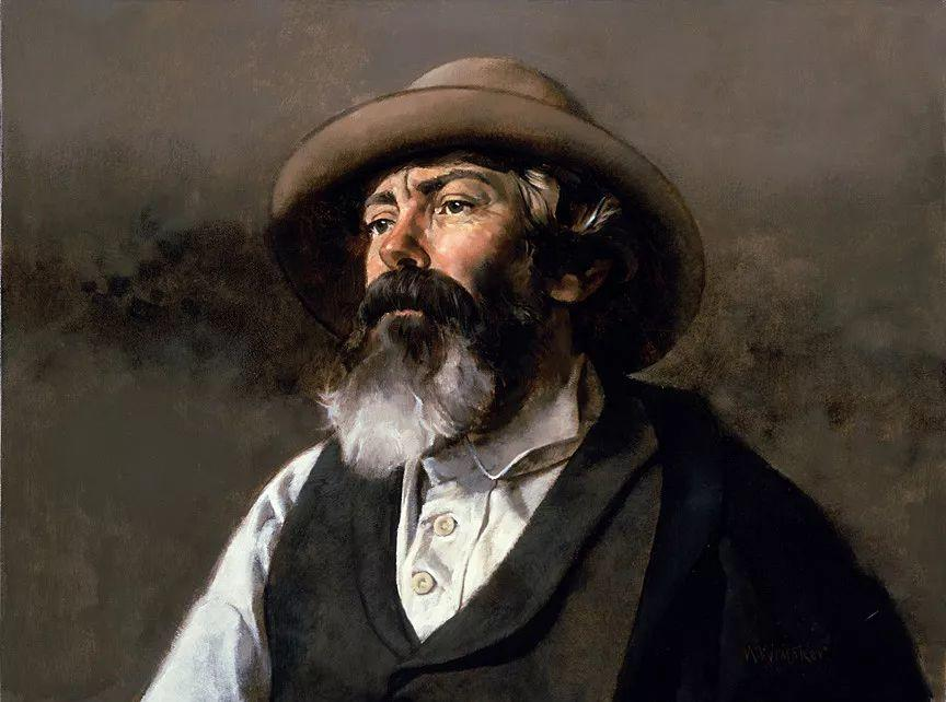 人物油画 美国现代著名画家William Whitaker插图32