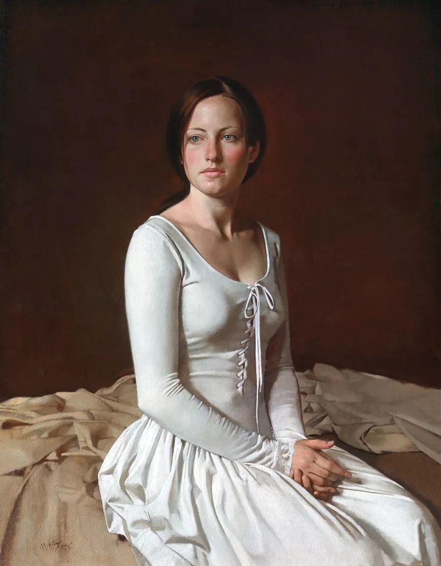 人物油画 美国现代著名画家William Whitaker插图33