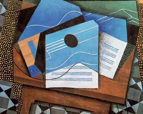 """胡安·格里斯""""立体主义绘画""""作品欣赏插图3"""