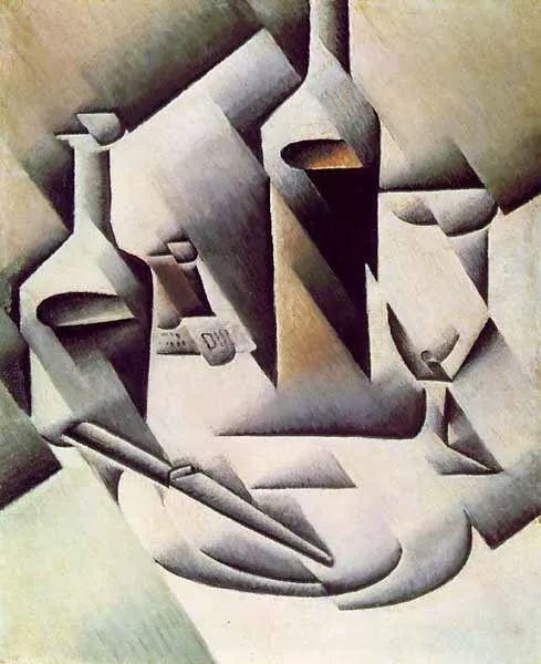 """胡安·格里斯""""立体主义绘画""""作品欣赏插图7"""