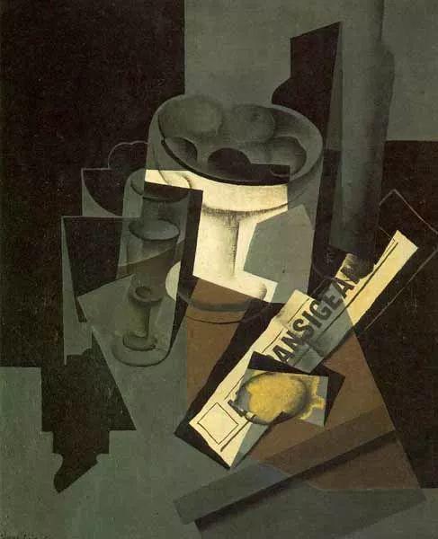 """胡安·格里斯""""立体主义绘画""""作品欣赏插图8"""