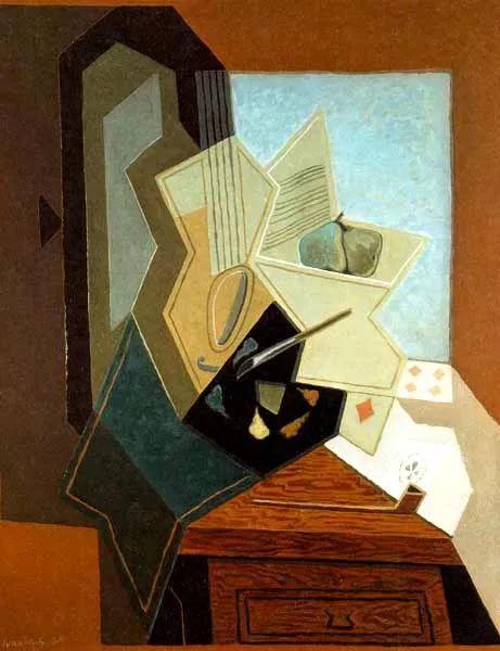 """胡安·格里斯""""立体主义绘画""""作品欣赏插图10"""