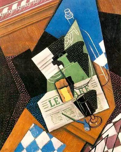 """胡安·格里斯""""立体主义绘画""""作品欣赏插图11"""