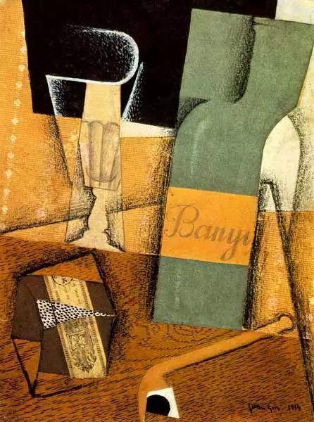 """胡安·格里斯""""立体主义绘画""""作品欣赏插图12"""
