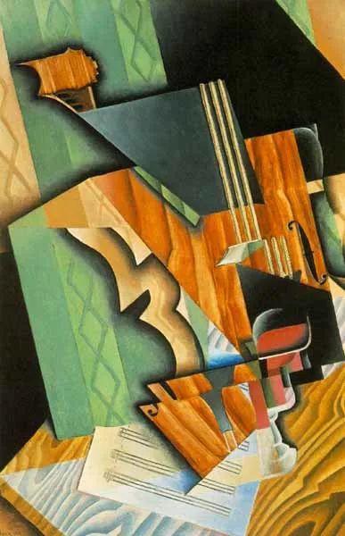 """胡安·格里斯""""立体主义绘画""""作品欣赏插图15"""