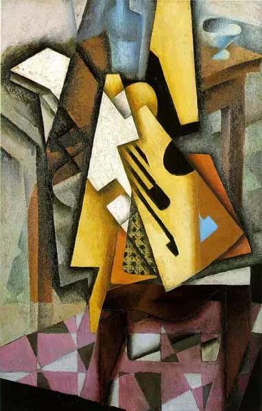 """胡安·格里斯""""立体主义绘画""""作品欣赏插图16"""