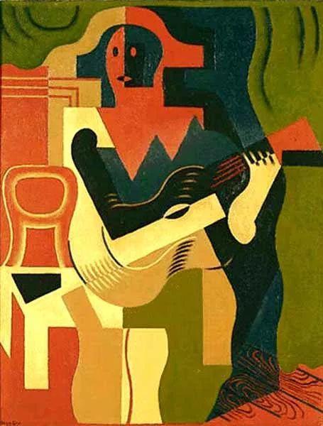 """胡安·格里斯""""立体主义绘画""""作品欣赏插图18"""
