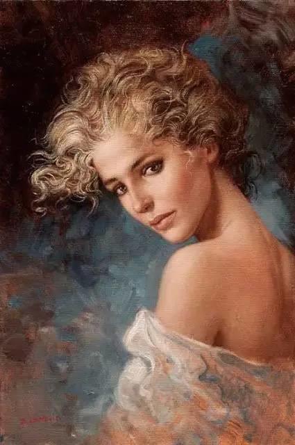 绝美油画女性人体肖像插图19