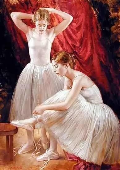 绝美油画女性人体肖像插图25