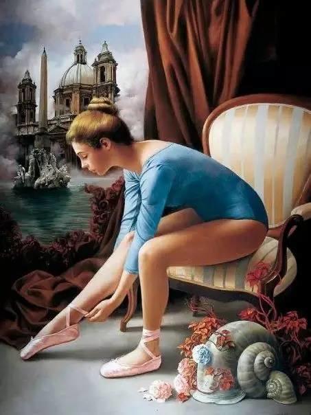 绝美油画女性人体肖像插图27