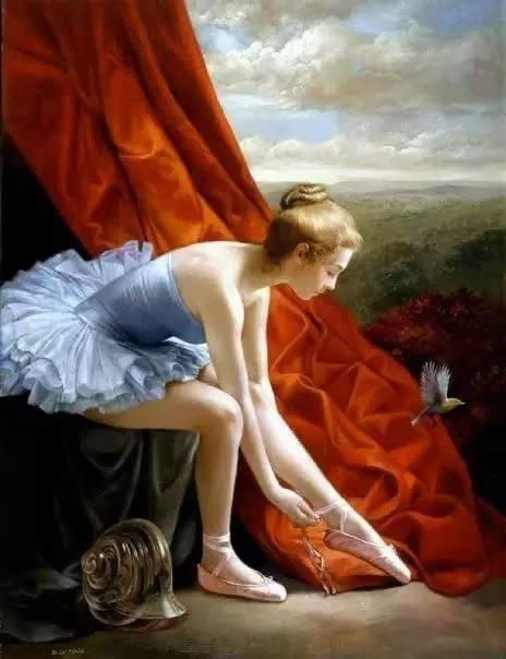 绝美油画女性人体肖像插图31