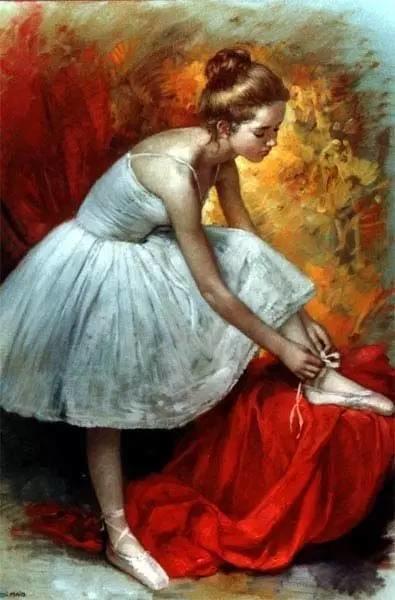 绝美油画女性人体肖像插图33