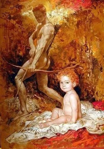 绝美油画女性人体肖像插图41