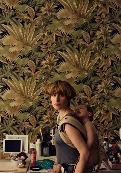 她的植物画里,总能感受到栩栩如生插图1