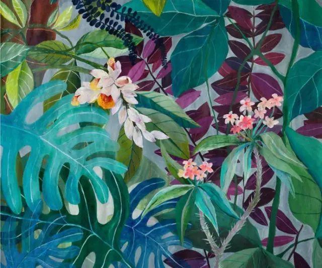 她的植物画里,总能感受到栩栩如生插图6