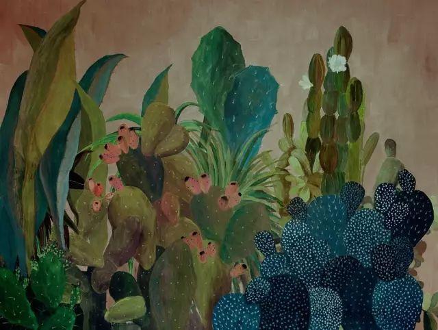 她的植物画里,总能感受到栩栩如生插图23