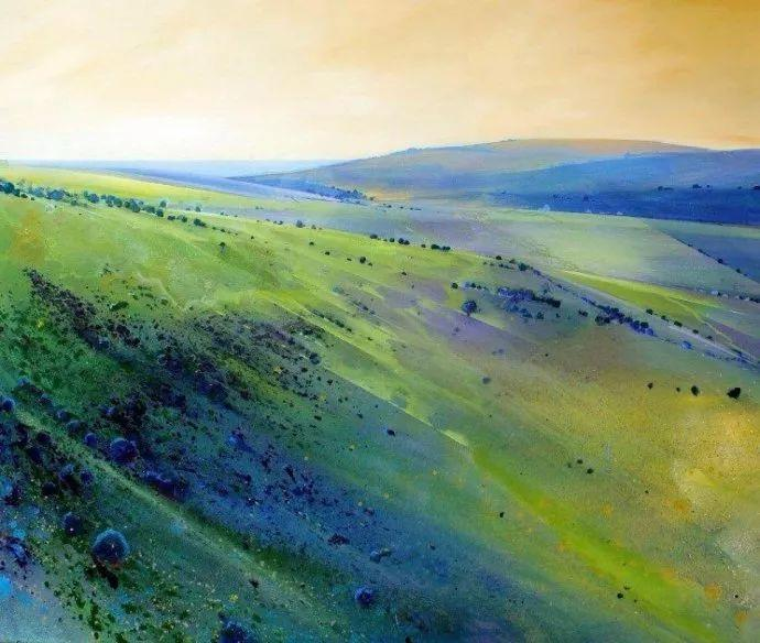 梦幻般的丙烯风景画——英国Lorna Holdcroft插图2