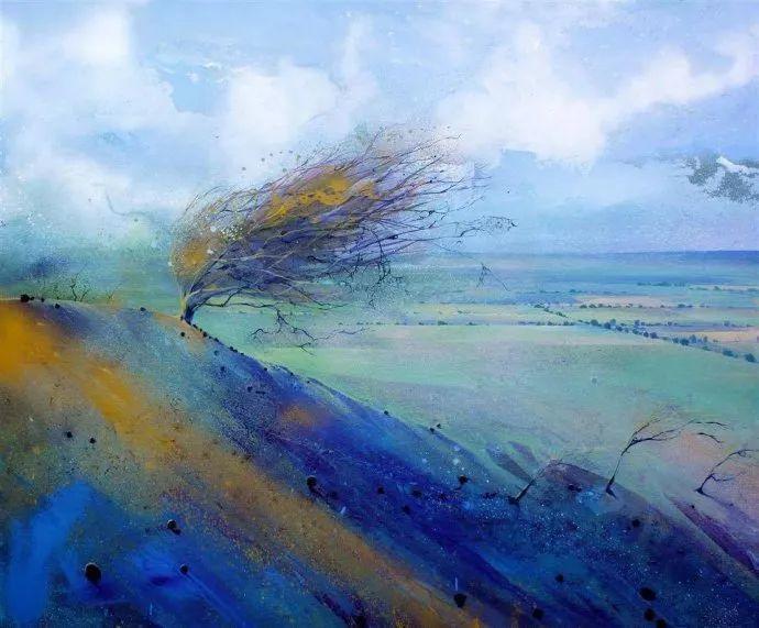 梦幻般的丙烯风景画——英国Lorna Holdcroft插图7