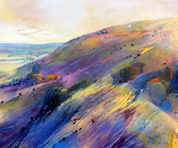 梦幻般的丙烯风景画——英国Lorna Holdcroft插图5