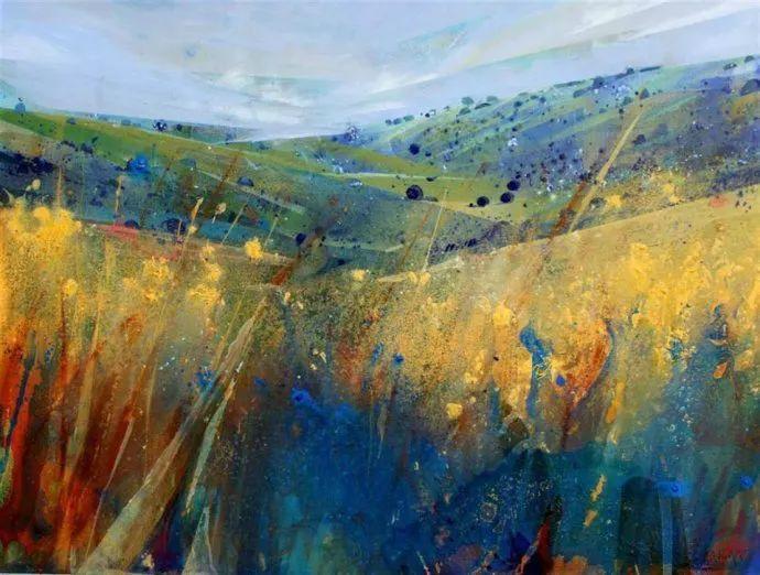 梦幻般的丙烯风景画——英国Lorna Holdcroft插图6