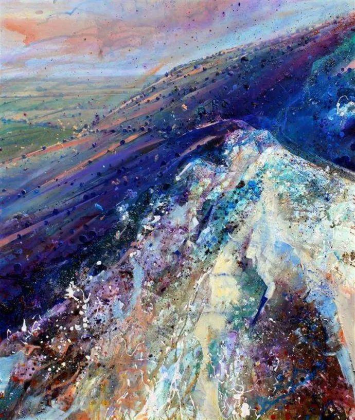 梦幻般的丙烯风景画——英国Lorna Holdcroft插图9