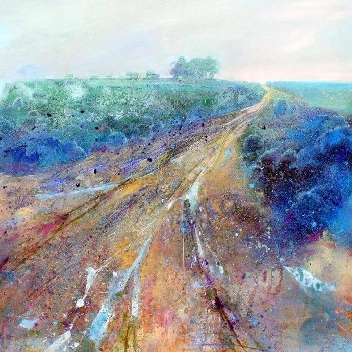 梦幻般的丙烯风景画——英国Lorna Holdcroft插图31