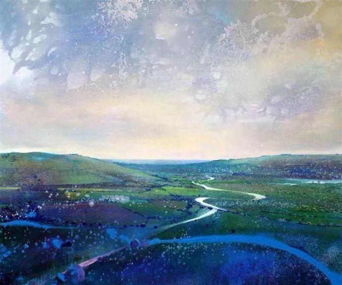 梦幻般的丙烯风景画——英国Lorna Holdcroft插图33
