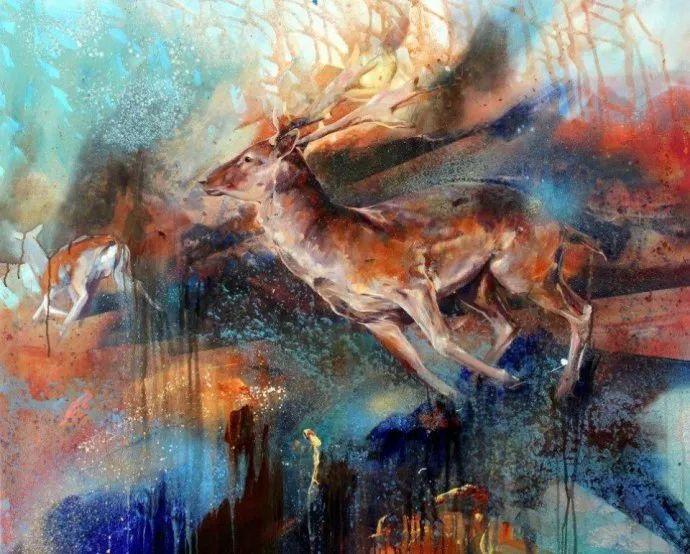 梦幻般的丙烯风景画——英国Lorna Holdcroft插图35