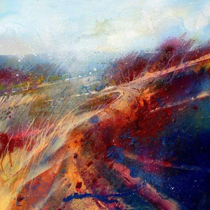 梦幻般的丙烯风景画——英国Lorna Holdcroft插图39