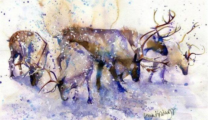 梦幻般的丙烯风景画——英国Lorna Holdcroft插图41
