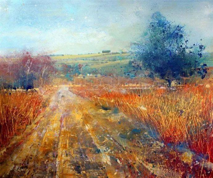 梦幻般的丙烯风景画——英国Lorna Holdcroft插图59