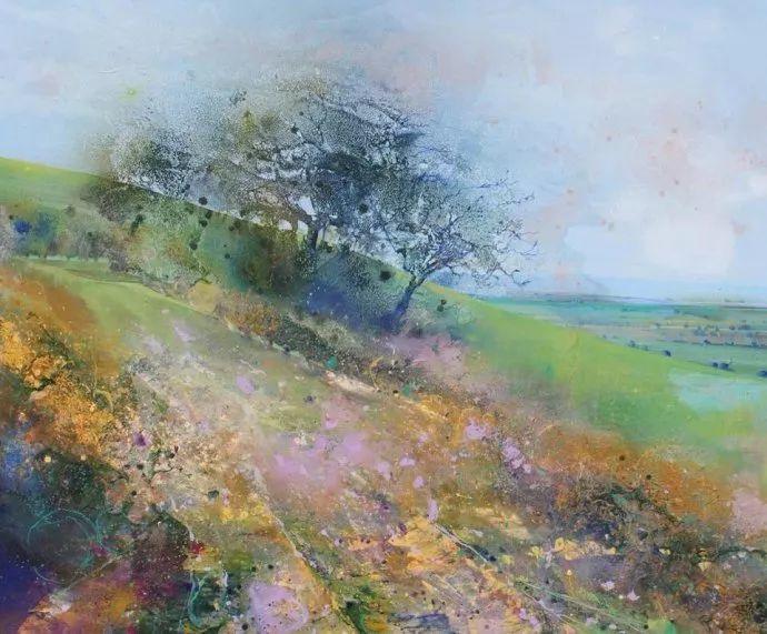 梦幻般的丙烯风景画——英国Lorna Holdcroft插图61