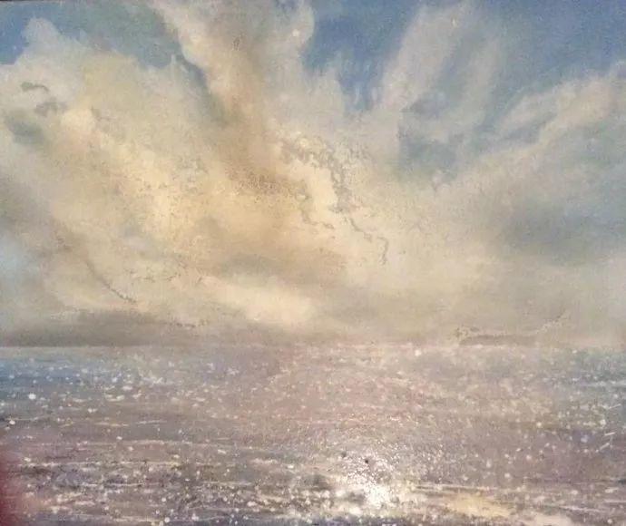 梦幻般的丙烯风景画——英国Lorna Holdcroft插图71