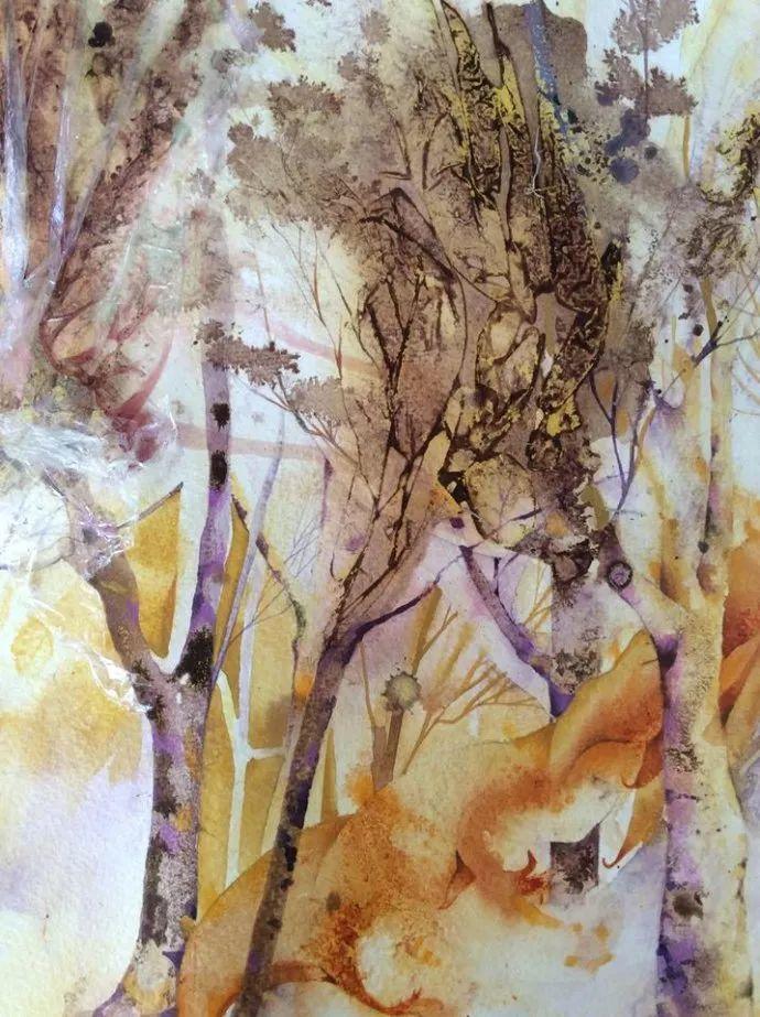 梦幻般的丙烯风景画——英国Lorna Holdcroft插图73