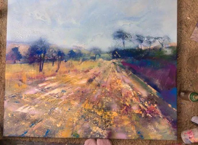 梦幻般的丙烯风景画——英国Lorna Holdcroft插图75