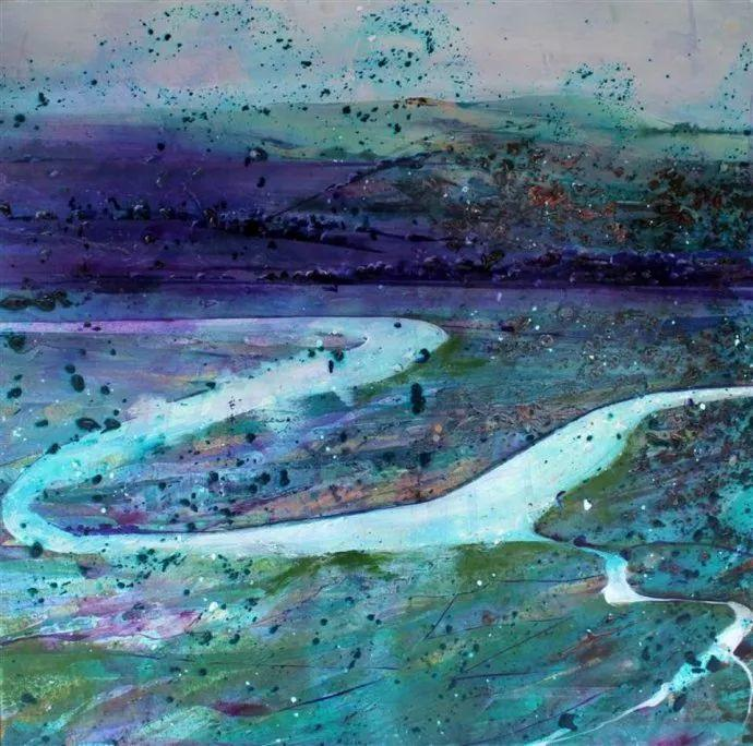 梦幻般的丙烯风景画——英国Lorna Holdcroft插图81