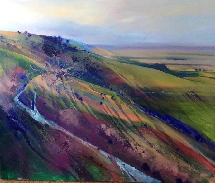 梦幻般的丙烯风景画——英国Lorna Holdcroft插图83