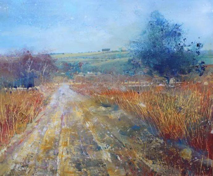 梦幻般的丙烯风景画——英国Lorna Holdcroft插图85
