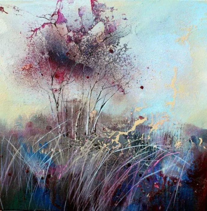 梦幻般的丙烯风景画——英国Lorna Holdcroft插图89