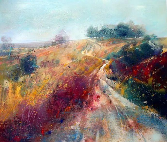 梦幻般的丙烯风景画——英国Lorna Holdcroft插图93