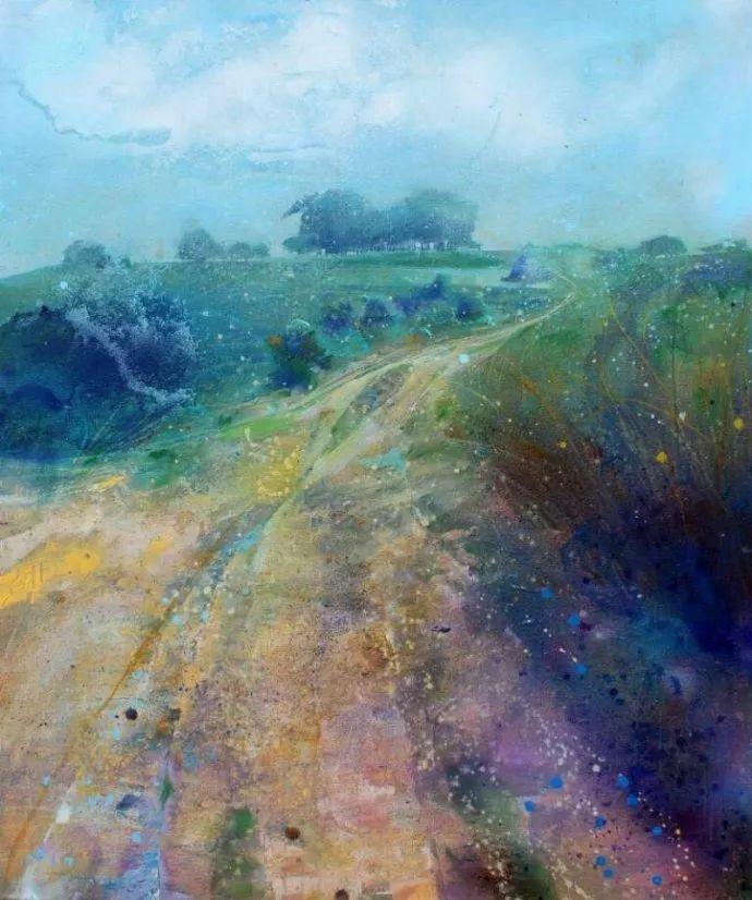梦幻般的丙烯风景画——英国Lorna Holdcroft插图97