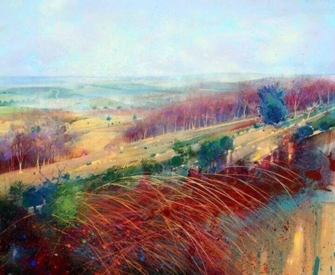 梦幻般的丙烯风景画——英国Lorna Holdcroft插图99