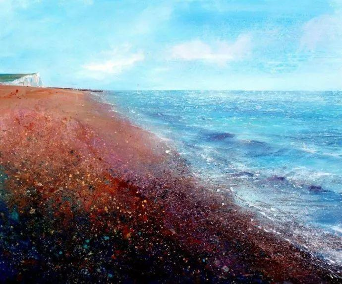 梦幻般的丙烯风景画——英国Lorna Holdcroft插图113