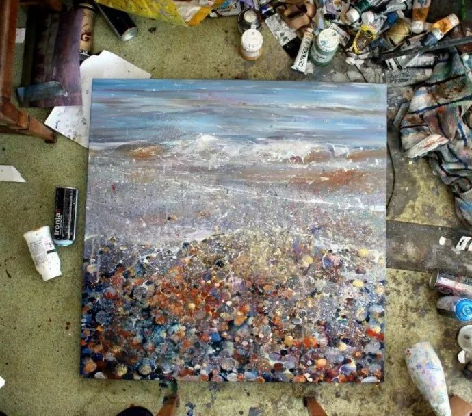 梦幻般的丙烯风景画——英国Lorna Holdcroft插图121