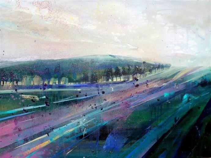 梦幻般的丙烯风景画——英国Lorna Holdcroft插图123