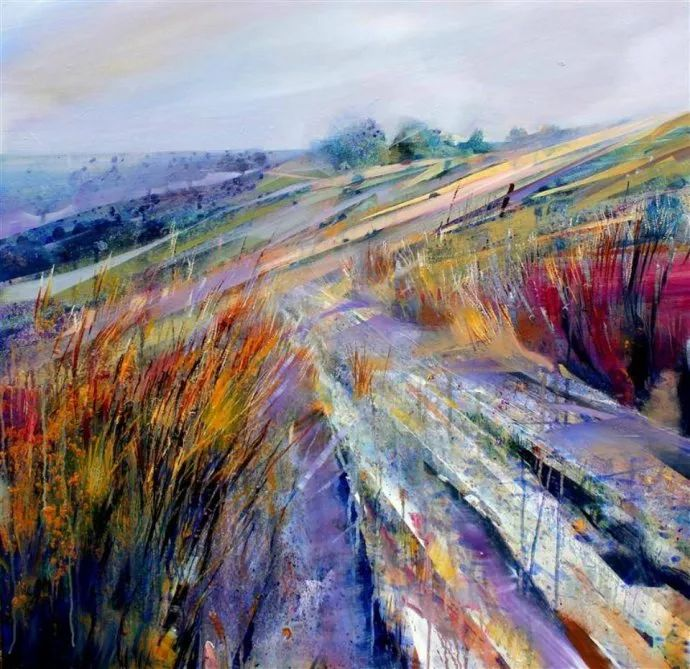 梦幻般的丙烯风景画——英国Lorna Holdcroft插图125