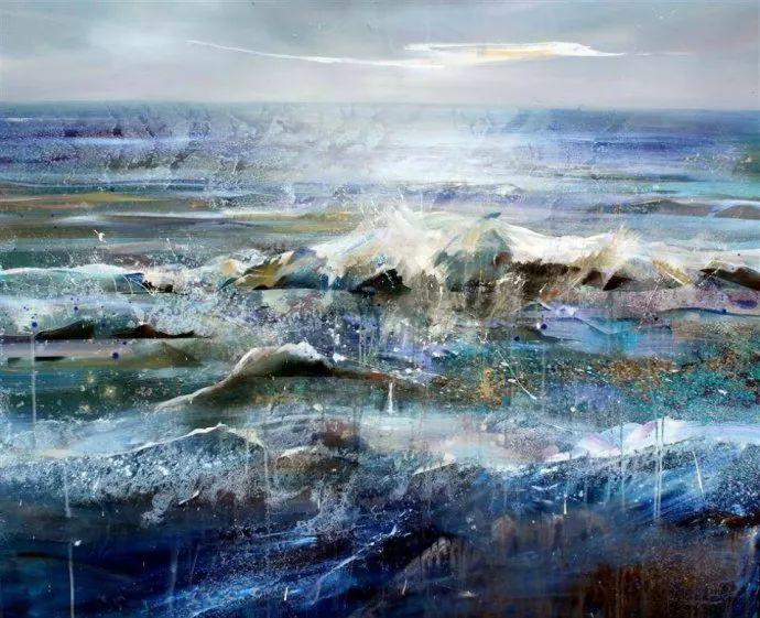 梦幻般的丙烯风景画——英国Lorna Holdcroft插图127