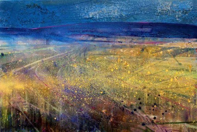 梦幻般的丙烯风景画——英国Lorna Holdcroft插图129