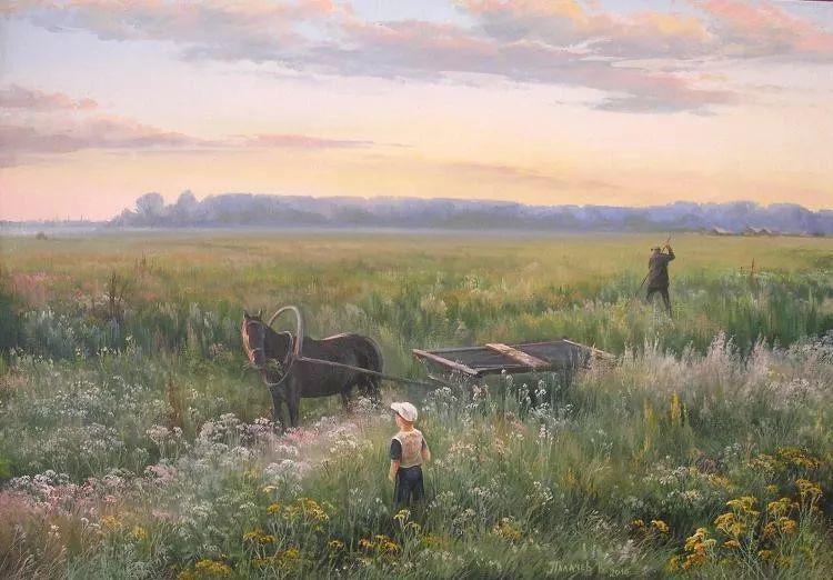 俄罗斯田园油画欣赏插图3